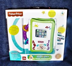 NEW Fisher-Price Laugh & Learn Apptivity & Storybook Reader iPhone /iPod Devices #FisherPrice