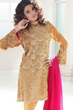 Luxury Pret Shalwar kameez beige kameez womens clothing