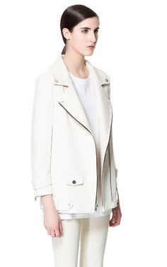 Image 3 of COMBINATION JACKET WITH ZIPS from Zara