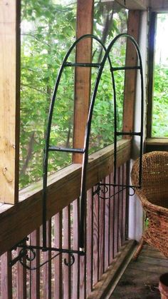Fence Hangers trellis arch with PicketGrip Technology. No screws or holes, mounts onto wood and ornamental pickets in seconds. If you ever wanted to add this feature above your gates it doesn't get any easier or better than this. Visit my website for other unique ideas!