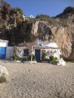 Calahonda beach, Nerja, Spain