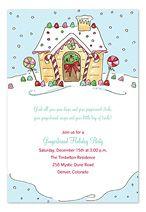 Kid's Christmas Party Invitations by InvitationConsultants.com
