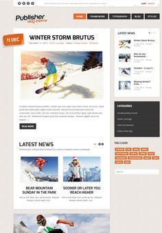 PUBLISHER PREMIUM JOOMLA TEMPLATE: BUILT YOUR AMAZING PERSONAL WEBSITE WITH OUR RESPONSIVE JOOMLA BLOG TEMPLATE.