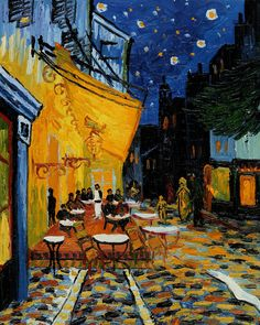 Cafe Terrace at NightVincent Van Gogh