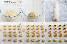 Receta de galletas italianas paso a paso