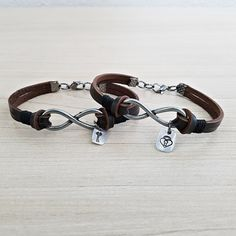 2 Pulseiras Masculinas Casal Namorados Best Friends Infinito mens bracelets fashion style cocar brasil