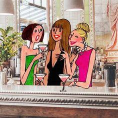 Paris Illustration, Cute Illustration, Pencil Art Drawings, Art Sketches, Little App, Little Paris, Marilyn Monroe Art, Pretty Drawings, Cartoon People
