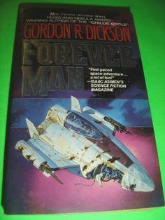 THE FOREVER MAN BY GORDON R. DICKSON 1988 SF PB BOOK