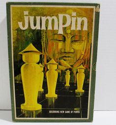 Jumpin 3M Bookshelf Game of Metal Pawns Vintage 1964 For 2 Players or 2 Teams #3M..... Visit all of our online locations..... www.stores.ebay.com/ourfamilygeneralstore ..... www.bonanza.com/booths/Family_General_Store ..... www.facebook.com/OurFamilyGeneralStore