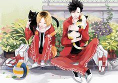 Kozume Kenma and Kuroo Tetsurou - Haikyuu