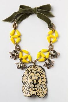 Ugly Lion Necklace for $448.00. Shame on everybody!
