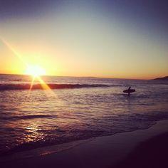 Zuma Beach Sunset – Hit the Lip
