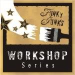 Funky Junk's Workshop Series...great pictures with a point and shoot camera