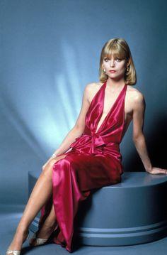 Elvira Hancock. Michelle Pfeiffer, 1983.