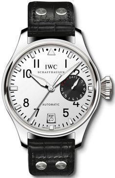 IWC Tourneau Big Pilot's Watch In Platinum