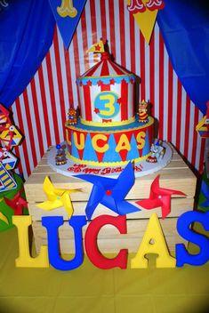 Lucas's Circus Extravaganza | CatchMyParty.com