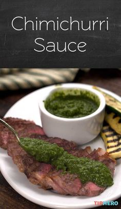 If you're already familiar with Chimichurri Sauce, you know well the magical effect the traditional Argentinian and Uruguayan condiment has on meat. And if you're not familiar— what in the world are you waiting for?! This stuff is FANTASTIC! Not only is it absolutely delicious, it's actually so incredibly simple and easy to make. All you need are some fresh ingredients and a food processor .Click for the video and try it yourself!