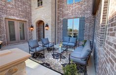 Antonio Courtyard in Whitley Place Knolls, Drees Custom Homes