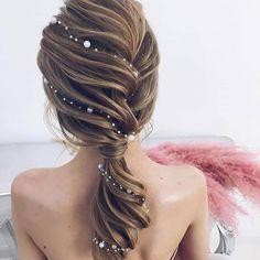 Penteado pra casar . . . . . . . .  #hair #trança #tranca #cabelo #penteado #hairdo #hairideas #espinhadepeixe #trançaembutida #madrinha #casamento #cabelolongo #longhair #hairtutorial #tutorial #tutorialdecabelo #diy #penteados #ficadica #dica #fikdik #cabelocomprido #braid #bride #bridal #bridesmaid #bridesmaids #wedding #inspiration #madrinhas