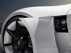 Porsche Mission E - A Contender Against Tesla? - MPPSOCIETY - The concept car combines the unmistakable emotional design of a Porsche with excellent performance and the forward-thinking practicality of the first Porsche Electric Car, Electric Sports Car, Porsche Taycan, Electric Vehicle, Porsche Club, Porsche Mission E, Tesla Model S, Automobile Magazine, E Mobility