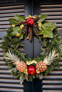 Pineapple Wreath   Flickr - Photo Sharing!