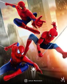 ArtStation - The Amazing Spider-Man Homecoming, Jakub Masłowski Marvel Art, Marvel Comics, Assassins Creed Rogue, Neon Artwork, Black Widow Natasha, Logan Wolverine, Iron Man Tony Stark, Loki Thor, Spider Verse