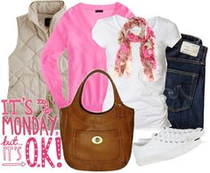"""Monday off"" by luv2shopmom on Polyvore"