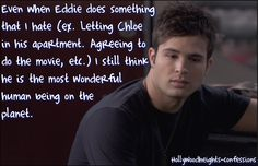 What a nice caring person  Eddie is how sweet.