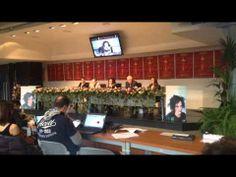 Sanremo 2014 - Conferenza stampa - Antonella Ruggiero ai microfoni di #Sanremoinside