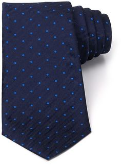 Navy Polka Dot Tie by Turnbull & Asser. Buy for $161 from Bloomingdale's