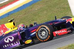 Malaysian GP 2013 - Sepang - Red Bull F1 Team - Mark Webber is the fastest from the beginning of free practice equipped with OZ Wheels #OZRACING