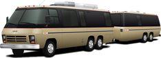 Camper Trailers, Camper Van, Campers, Gmc Motorhome, Motor Homes, Zombie Apocalypse, Van Life, Up, Transportation
