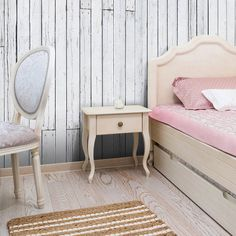 Fototapeta jasne deski #drewno #wood #art #design #dekoracja #wall #wallpaper