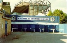 The shed end Chelsea FC