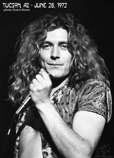 Robert Plant ~ Tucson 1972