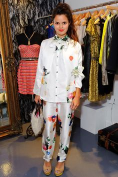 Bip Ling, veryfirstto.com Luxforecast Connoisseur, at the Haagen-Dazs Boudoir party. Image via glamour.com
