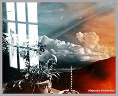 Mundos internos - Fotografía de doble exposición - Autora: Alejandra Etcheverry