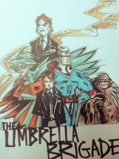 Umbrella Academy by Gerard