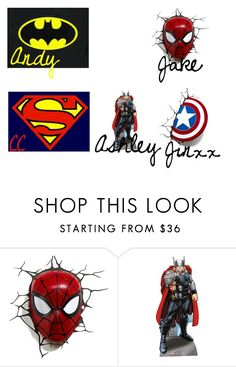"""Preference #1 Your favorite superhero (Male)"" by alexisrenefuentes on Polyvore featuring Marvel"