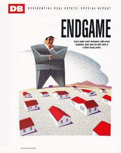 Designed Endgame Opener for Diablo Business Magazine.