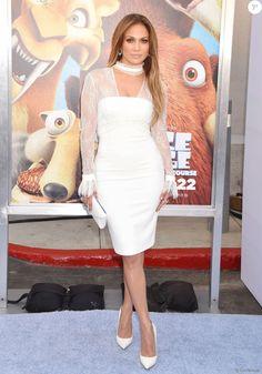 """Jennifer Lopez lors de la première de """"Ice Age: Collision…"""