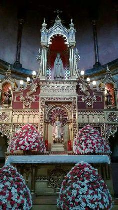 Colombia - Interior de templo en Nariño, Pasto.
