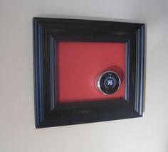 Framed Nest Learning Thermostat