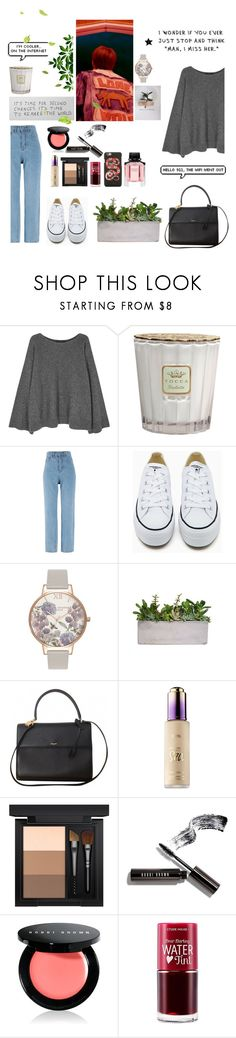 """Jebal"" by soojinchoi ❤ liked on Polyvore featuring The Row, Tocca, GET LOST, Converse, Olivia Burton, Yves Saint Laurent, tarte, MAC Cosmetics, Bobbi Brown Cosmetics and Etude House"