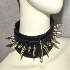 Studded Deco Collars, Deco, Jewelry, Fashion, Moda, Necklaces, Jewlery, Jewerly, Fashion Styles