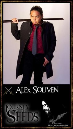 Make way, make way!  Silver Swords crossed - First Campaign Veteran - Alex Soliven, coming through. http://www.journeyoftheseeds-themovie.com/members/alexdarkfire/profile/  Join the fight.  http://www.journeyoftheseeds-themovie.com/the-first-campaign-join-the-fight/