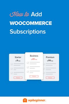 Do you want to add subscriptions to WooCommerce? Learn how you can add subscriptions to WooCommerce in WordPress easily. Wordpress Plugins, Online Courses, Helpful Hints, Alternative, Ads, Learning, Free, Useful Tips, Studying