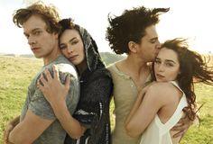 """""""Theon, Cersei, Snow & Khaleesi"""""""
