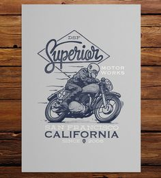 Graphic Design - Graphic Design Ideas  - Superior Motor Works Art Print by DSF Clothing Company and Art Gallery on Scoutm...   Graphic Design Ideas :     – Picture :     – Description  Superior Motor Works Art Print by DSF Clothing Company and Art Gallery on Scoutmob  -Read More –