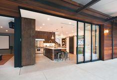 #kitchen #glasswall #indooroutdoorliving